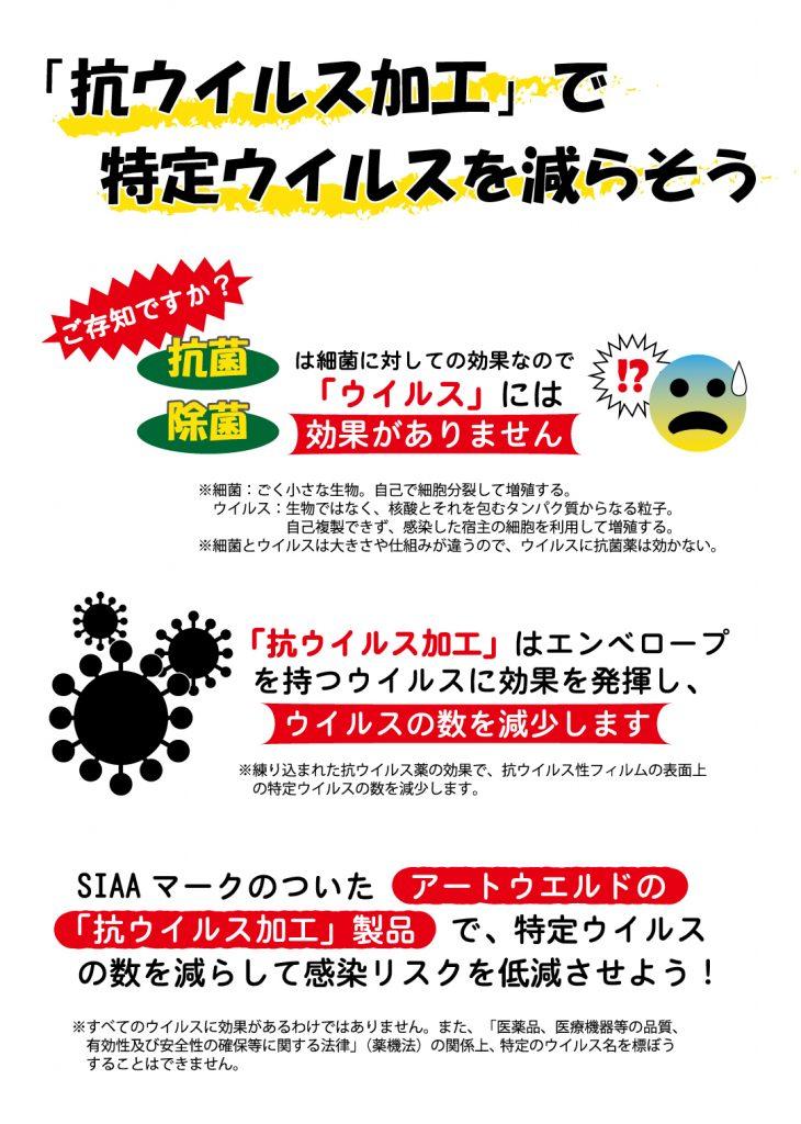 抗ウイルス加工 リーフレット マスクケース 不織布マスク 立体マスク 布マスク